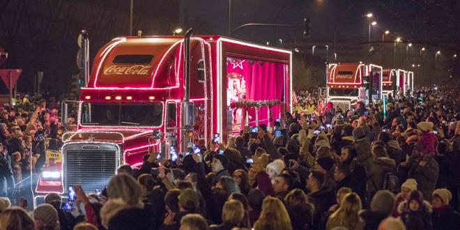 Die Coca Cola Weihnachtstour Kommt Nach München Nachrichten München