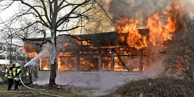 Abgebrannter Kulturpavillon: Jetzt steht die Brandursache fest