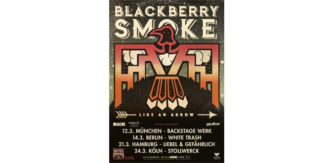 Blackberry Smoke im Backstage Werk München