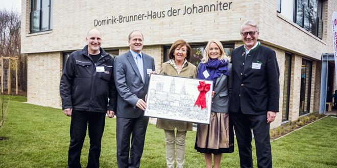 Dominik-Brunner-Haus der Johanniter feierlich eingeweiht