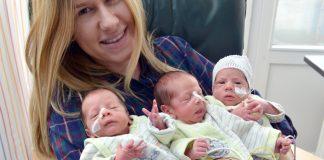 Drillinge im Klinikum Harlaching geboren