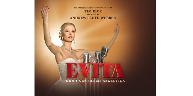 EVITA vom 11. bis 23. April 2017 im Deutschen Theater München