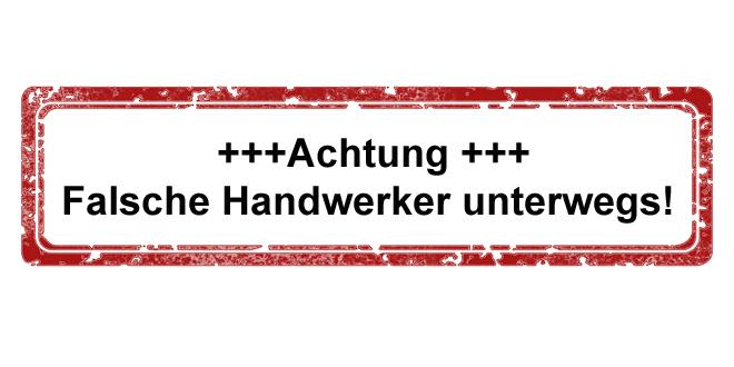 Mehrere Trickdiebstähle durch falsche Handwerker im Stadtgebiet München