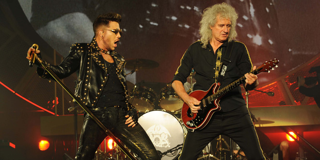 Queen & Adam Lambert Tour 2017 am 02.11.2017 in der Olympiahalle München