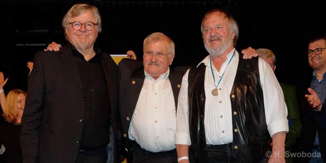 Bayerischen Poetentaler 2017 an Fredl Fesl verliehen