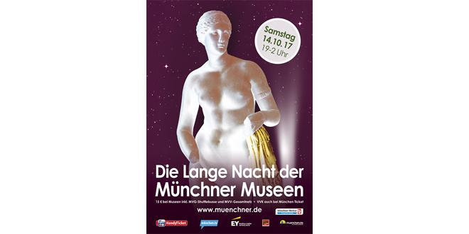 Langen Nacht der Münchner Museen 2017