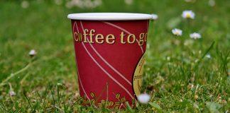 Aktionstag gegen Einweg-Kaffeebecher auf dem Viktualienmarkt