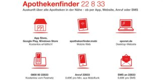 Apothekenfinder 22 8 33