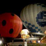Ballonglühen bei der Tegernseer Tal Montgolfiade 2018