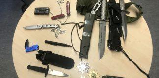 Waffen bei Durchsuchung bei sogenannten Reichsbürger aufgefunden
