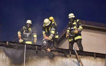Sendling-Westpark: Brand in stillgelegter Schule