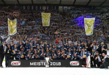 EHC Red Bulls Deutscher Meister 2018