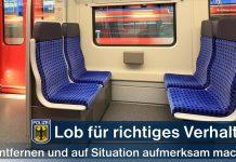 Exhibitionistische Handlungen in der S-Bahn