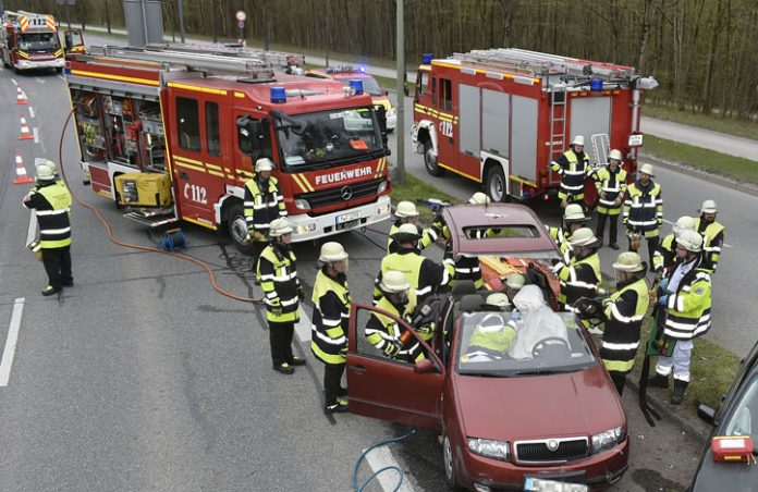 Dachauer Straße: Verkehrsunfall mit einem Schwerverletzten