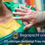 Frau sexuell belästigt - 35-Jährige mehrfach unsittlich angefasst