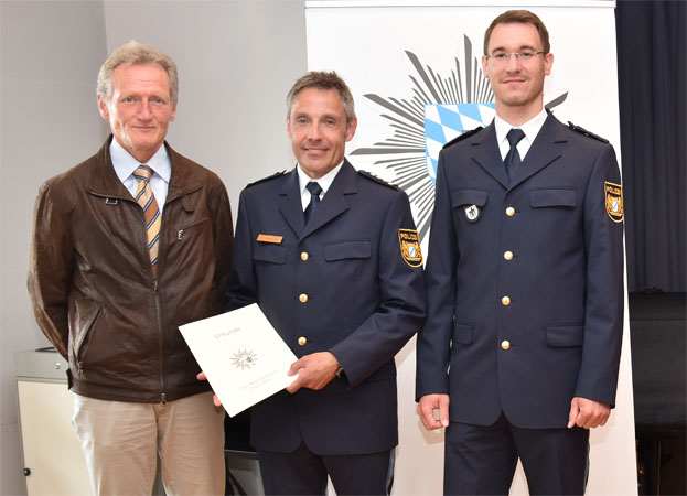 Amtseinführung des neuen Leiters der Polizeiinspektion 46