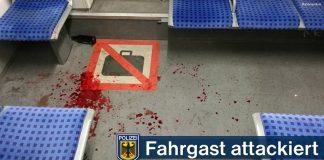DB-Streife und Fahrgast attackiert