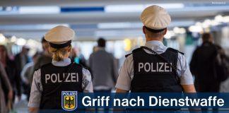 Griff nach Dienstwaffe - 53-Jähriger nach körperlichem Angriff ausgenüchtert