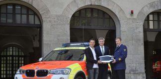 Kindernotarztdienst: Neues Fahrzeug sichert schnelle Notfallhilfe