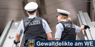 Widerstand gegen Bundespolizisten