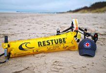 Schnelle Hilfe aus der Luft für in Not geratene Schwimmer
