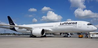 """Lufthansa erhält 10. Airbus A350-900: Der Hingucker auf den """"Family & Music Days"""" am Münchner Flughafen"""