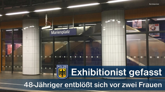 Marienplatz: 46-Jähriger entblößte sich vor zwei Frauen