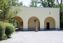 Historisches in neuem Glanz: Die renovierte Affenpforte mit Kiosk ist fertiggestellt