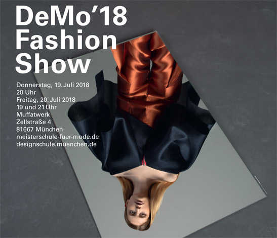 DeMo'18 Fashion Show - Defilee der Meisterklassen vom 19. bis 20. Juli 2018