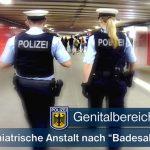 """Genitalbereich entblößt - Widerstand nach """"Badesalz""""-Konsum"""