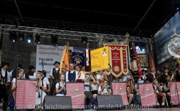 Stadtgründungsfest 2018: Das Handwerkerdorf am Odeonsplatz