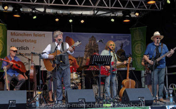 Münchner Stadtgründungsfest 2018: Irish-Bayrisch feiern neben St. Michael