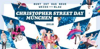 """CSD München – """"Bunt ist das neue Weiß-Blau"""": Plakatmotiv enthüllt"""