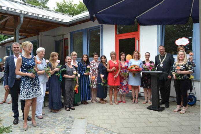Feierliche Neueröffnung der AWO-Kinderkrippe Biberger Straße