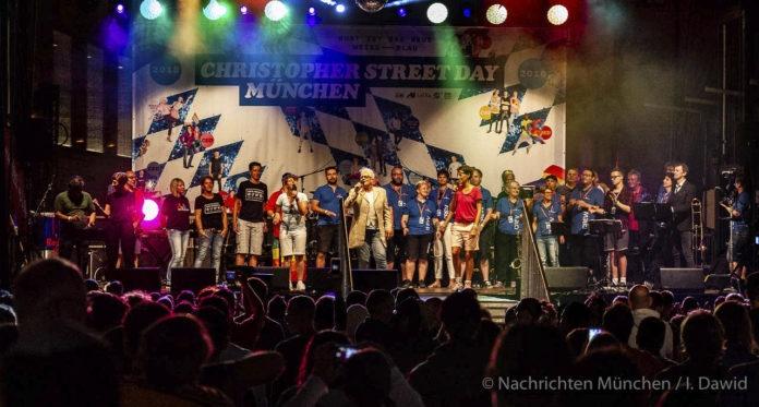 Bühnenprogramm CSD München 2018