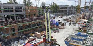 Cosimastraße: Schwerer Baustellenunfall