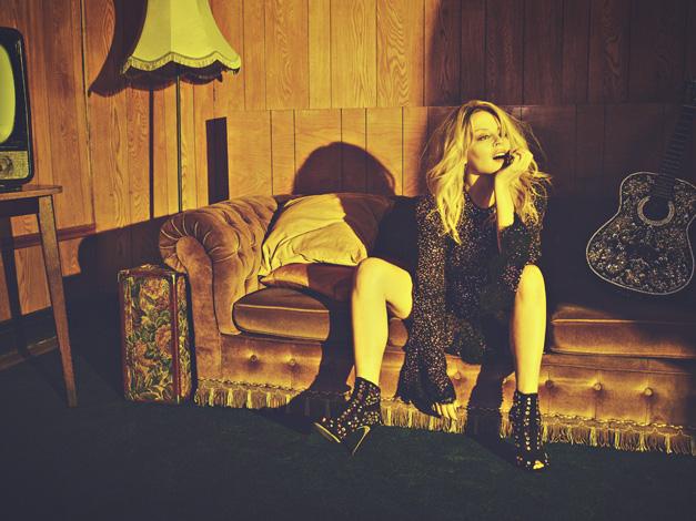 Kylie Minogue im Herbst 2018 auf