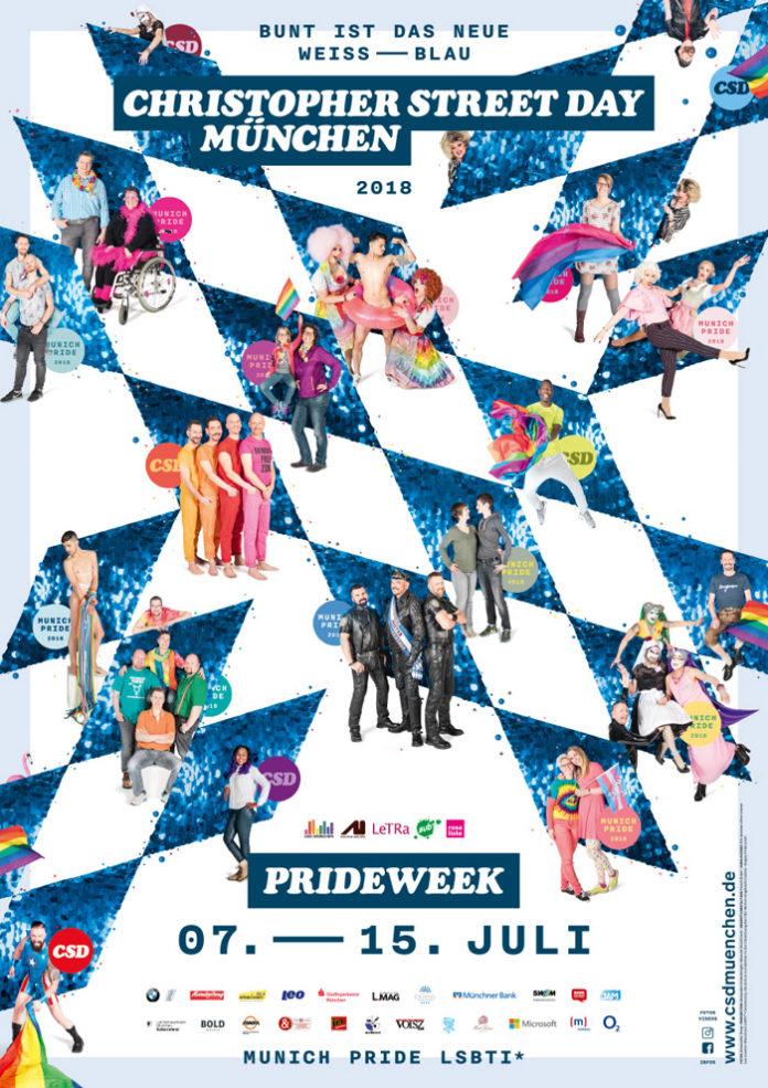 CSD München Plakat 2018