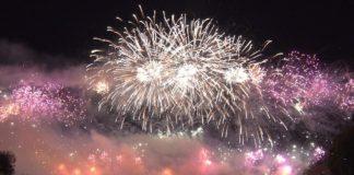 Das Feuerwerk beim Münchner Sommernachtstraum