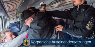 Körperverletzungen in der S-Bahn - Nach Streitigkeiten flogen die Fäuste