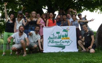 Erstes Münchner Klimacamp im September 2018