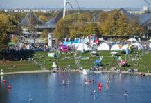 M-net OutdoorSportFestival am 16. September 2018 im Olympiapark München
