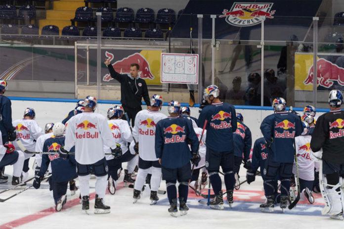Red Bulls zurück auf dem Eis