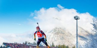 Der Biathlon Weltcup hat wieder Ruhpolding im Fadenkreuz