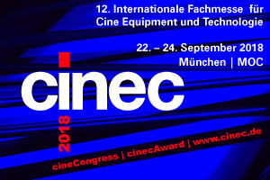 cinec – Internationale Fachmesse für Cine Equipment und Technologie