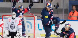 EHC Red Bulls feiern Heimsieg gegen Turku