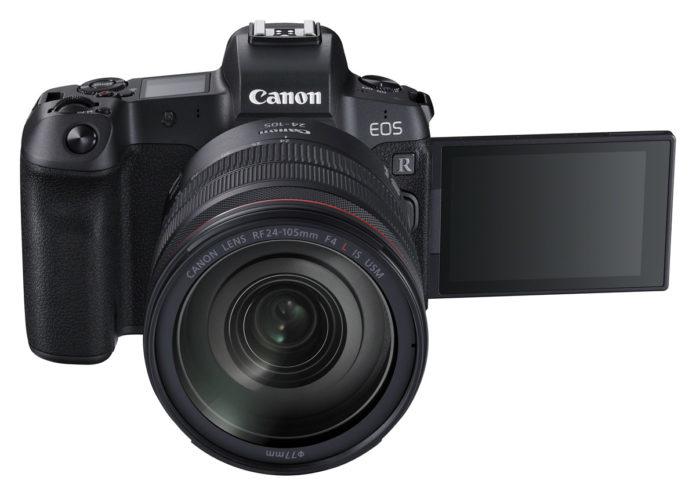 EOS R: Spiegelloses Vollformat-Kamera vorgestellt