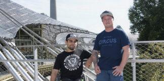 Deutscher FMX-Champion Hannes Ackermann geht mit dem Team von Nitro Circus in Deutschland auf Tour