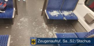 Helfer attackiert – Unbeteiligter verletzt Mehrere Reisende von Streit in S-Bahn betroffen