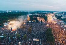 #wirsindmehr - 65.000 Menschen erleben ein friedliches Protest-Konzert